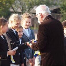 ceremonia na zawodach